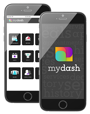 Photo of MyDash Mobile App Interface on IPhone